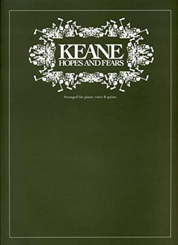 Keane Hopes And Fears Pvg: Noten für Gesang, Klavier (Gitarre):
