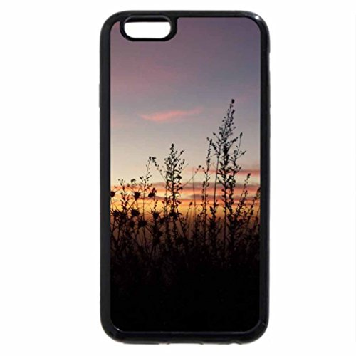 iPhone 6S / iPhone 6 Case (Black) Clouds in evening