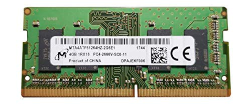 Micron mta4atf51264hz-2g6e14GB DDR4ungepuffert, Non-ECC RAM Modul-Mehrfarbig -