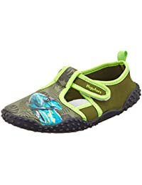 Playshoes UV-Schutz Badeschuhe Chamäleon, Zapatillas Impermeables Unisex Niños