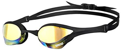 Arena Cobra Ultra Mirror - Schwimmbrillen - verspiegelte Gläser - gelb/revo/schwarz