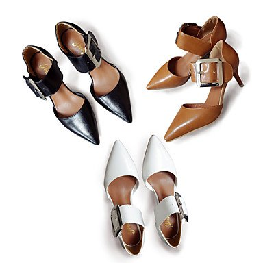 Littledevil sandalen pu komfort outddor Damen Weiß stöckelabsatz ggqxUHwr