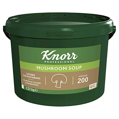 Knorr Professional Mushroom Soup Mix, 200 Portions (34 Litres)