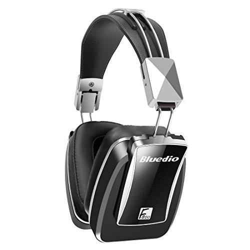 Bluetooth Kopfhörer, Bluetooth Headset, Over-Ear-Bluetooth 4.1Kopfhörer mit Mikrofon schwarz Wireless Faltbar Active Noise Cancelling Kopfhörer Bass Musik Metall Headset