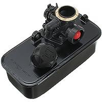 PETSOLA Combustible Depósito De Gasolina Y Combustible Carburador Carburador para Briggs \u0026 Stratton 499809 494406