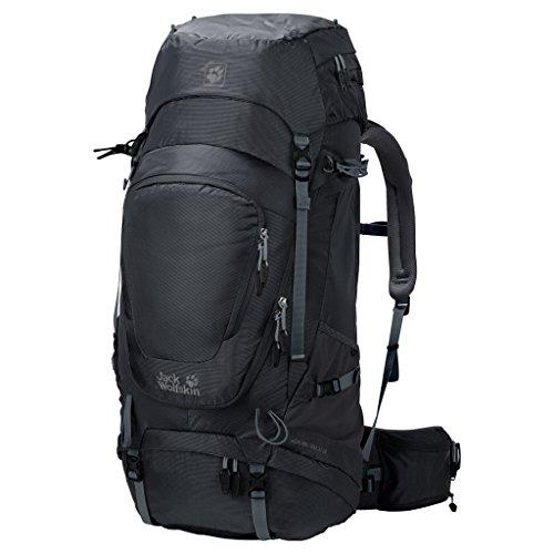 (Jack Wolfskin Mädchen Highland Trail XT 60 Wandern Outdoor Trekking Rucksack, Phantom, 68x34x12 cm)