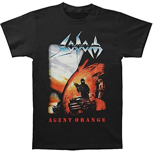 Skyey Agent Orange Filmfoto Kurzarm Fashion Graphic T-Shirt