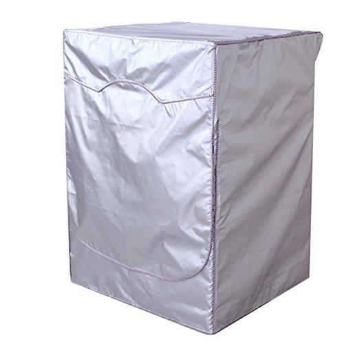 WINOMO Housse de Protection pour Machine à Laver Charge avant Lave-linge Sèche-linge Étanche 64 x 60 x 84 cm