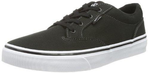 Vans WINSTON Unisex-Kinder Sneakers, Schwarz ((Canvas)Blk/Wht), 38 EU (Canvas-sneakers Blk)