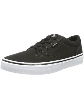 Vans Y WINSTON  (CANVAS)BLK/WHT - Zapatillas de lona infantil
