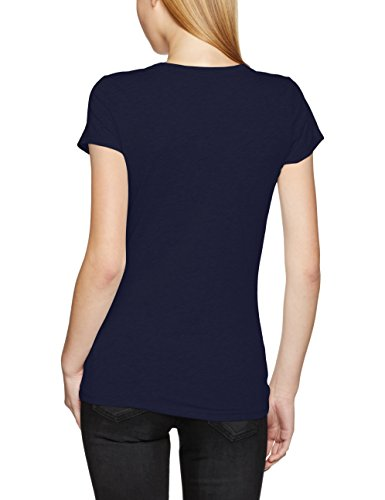 G-STAR RAW Damen T-Shirt Eyben Slim R T Wmn S Blau (Sartho Blue 6067)