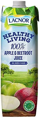 Lacnor Health Living Apple & Beetroot Juice - 1 Litre