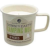 Northern Lights Candles Down To Earth Mug Su0027mores Candle, 10 Oz By Northern