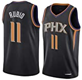 K&A Camiseta Ricky Rubio Phoenix Suns Negra para Hombre & Niño, Camiseta Ricky Rubio Phoenix Suns Statement Edición Swingman para Hombre & Niño (Negra, Hombre XXL)
