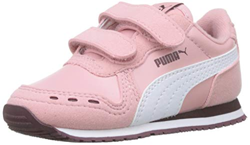 Puma Cabana Racer SL V Inf, Baskets Mixte Enfant,Rose...