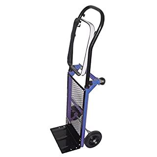 Archimede HT Trolley with Sack Support, Metal, Blue, 30x 30x 98cm