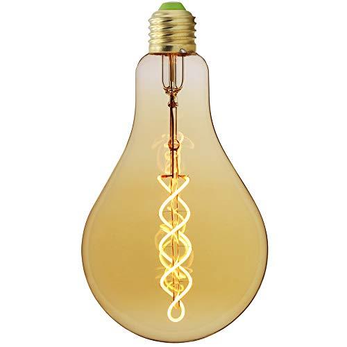 Large Size Edison Bulb A110 / PS35 Soft LED Filament Vintage Bulb Dimmable 4 W