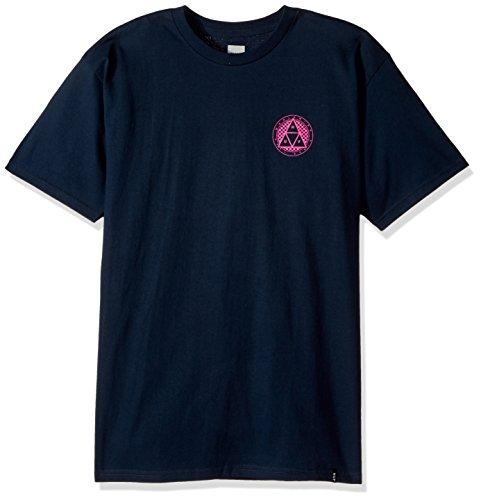 HUF Checkered Triple Triangle T-Shirt Black