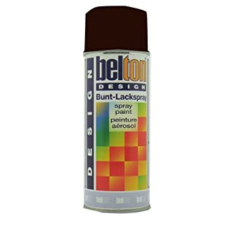 K K Auto Herpe Auto Belton Ral8017 400 ml-Colour: Chocolate Brown