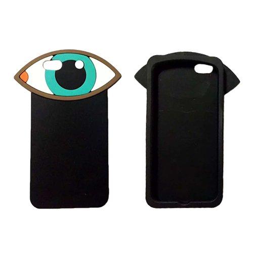 F8Q personnalité Belle Case Protector Aménagée Silicone Cover pour Apple iPhone 6 bleu