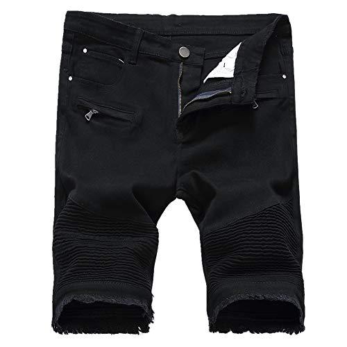 e Hosen Herren Cowboy Shorts Sommer Casual Shorts Männer Heißer Fest männer Shorts Baumwolle Beiläufige Kurze Mode Gerade Kurze Homme (Kein Gürtel) x1 ()