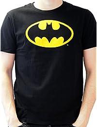 Batman - T-shirt - Imprimé - Col rond - Manches courtes - Homme