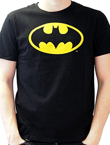 Batman - Batman Logo, T-shirt da uomo, nero (noir), Small (Taglia Produttore: S)
