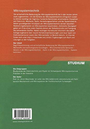 Mikrosystemtechnik: Konzepte und Anwendungen