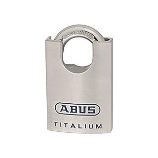 ABUS Mechanische 96csti/60B/efspp Titan geschlossen Schäkel Vorhängeschloss, Blister, 60mm