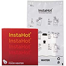 InstaHot Flameless Food Heater for Trekking, Picnic, Travelling, Emergencies with Travel Kit - Pack of 5