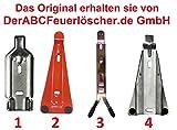 verschiedenen Wandhalterung für Feuerlöscher Schaum Wasser Pulver Fettbrand CO2, 6/9 / 12 kg/L Gerät Farbe Ausfürung 2