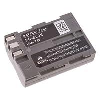 Protection de surcharge et de court-circuit,  Voltage: 7.4V Capacité: 1800 mAh, avec infochip  pour Nikon DSLR D50, D70, D70s, D80, D90, D100, D200, D300, D300s D700
