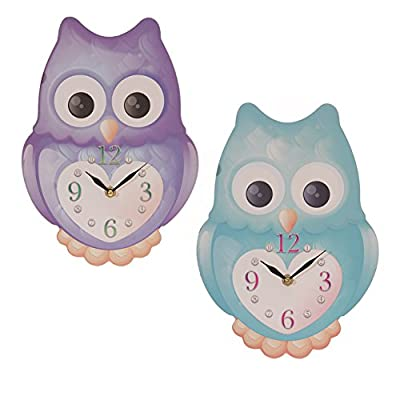 Shaped Picture Clock - Ted Smith Cute Owl