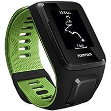 TomTom Runner 3 Cardio Orologio GPS, Cardiofrequenzimetro Integrato, Cinturino Small, Nero/Verde - Sport Outlet 24