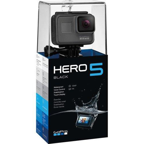 GoPro HERO5 Black Action Camera (Certified Refurbished Model)