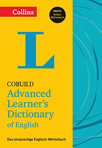 Collins Cobuild Advanced Learner's Dictionary of English - Buch mit Online-Anbindung: Das...