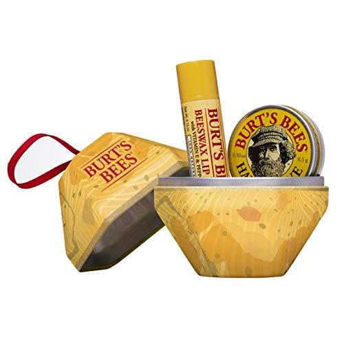 Burt\'s Bees A Bit 2 Stück Geschenkset - 100{5e40aced38096d6a9a3c93342d93db40993326d806700a182114036c4bae5433} natürlicher Bienenwachs Lippenbalsam mit Vitamin E und Pfefferminz, 65 g