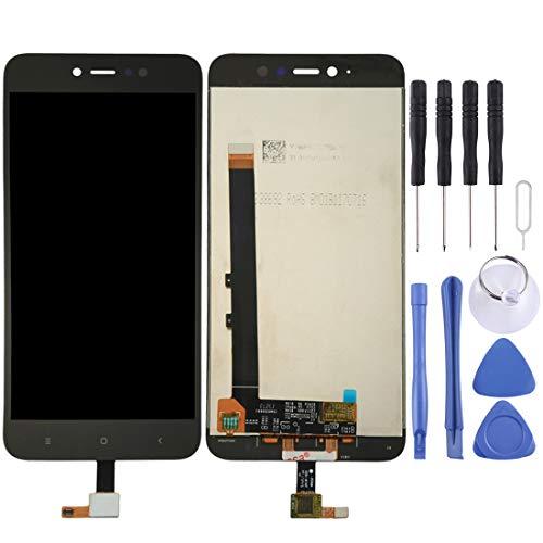 Jiangpp China Supplier Handy zubehör for xiaomi redmi Note 5a pro/Prime LCD Bildschirm und digitizer Full Assembly (schwarz) Repair Spare Parts (Farbe : Black) -