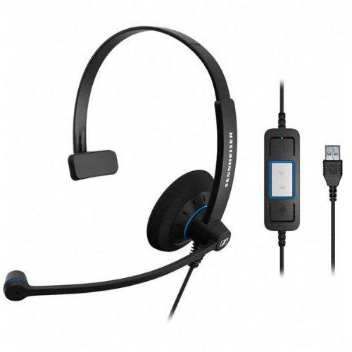 Sennheiser SC 30 USB On-Ear Black