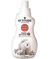 Attitude Fabric Softener 40 Loads, Pink Grapefruit, 33. 8 Fluid Ounce