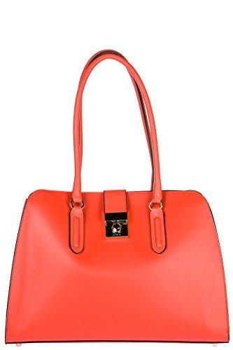 Furla sac à l'épaule femme en cuir milano orangene