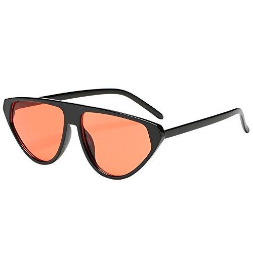 EVA Schmuck Hochwertige Pilotenbrille Sonnenbrille Frauen-Mann-Art- und Weiseweinlese-unregelmäßige Form-Sonnenbrille Eyewear Retro Unisex