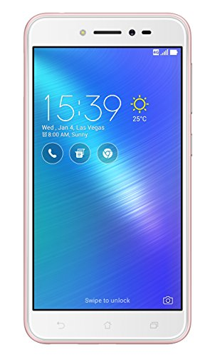 Asus ZenFone Live Dual-SIM Smartphone (12,7 cm (5,0 Zoll) HD Touch-Display, 16 GB Speicher, Android 6.0) pink (Asus 6 Smartphone)