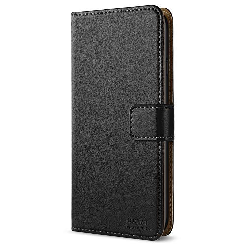 HOOMIL Coque iPhone 6 Plus, Coque iPhone 6S Plus, Housse en Cuir Premium Flip Case Portefeuille Etui Coque pour Apple iPhone 6 Plus / 6S Plus (5.5'') - Noir