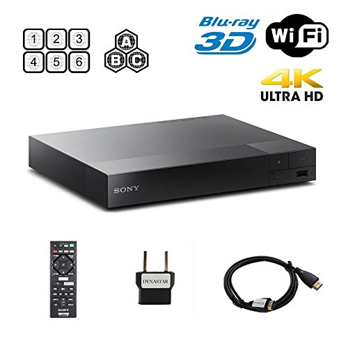 Sony BDP-S6500 2K/4K Multi System Blu Ray Disc DVD Player - PAL/NTSC - 2D/3D  available at amazon for Rs.37050