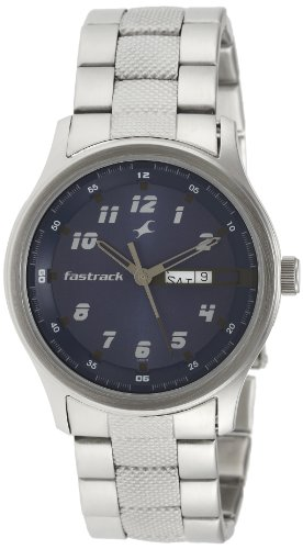 Fastrack Essentials Analog Blue Dial Men's Watch - NE3001SM02