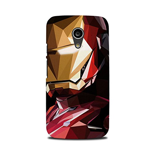 Moto G2 Back Cover - StyleO Premium Quality Designer Printed Case & Cover for Moto G2 (2nd gen) (Iron Man)