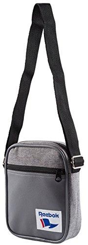 Reebok Prototypical Royal City Bag, Tasche, Praktische, robuste Umhängetasche mit Reißverschluß und einer Außentaschen mit Reißverschluß und Verstellbare Träger, Maße : 22 x 16 x 5 cm
