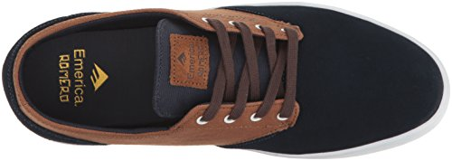 EmericaThe Romero - Scarpe da Skateboard Uomo Navy/brown/white