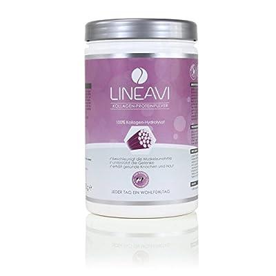LINEAVI Collagen Protein Powder • 100% collagen hydrolysate from grass fed cattle • 410g